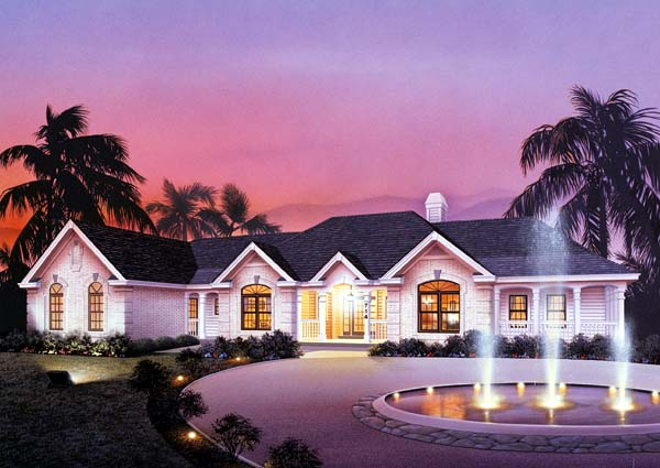 Traditional House Plan 87311 Elevation