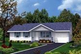 Plan Number 87322 - 988 Square Feet