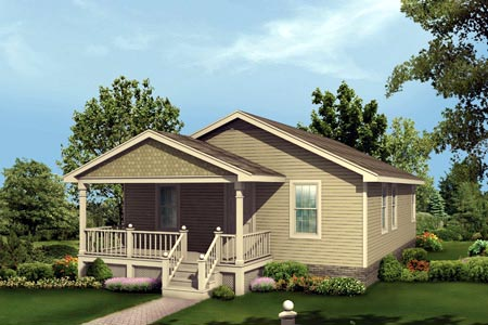 Elevation of Traditional   House Plan 87333