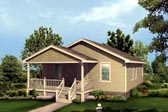 Plan Number 87333 - 1320 Square Feet