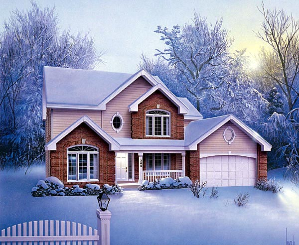 Traditional House Plan 87336 Elevation