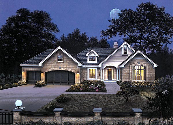 House Plan 87339 At Familyhomeplans Com
