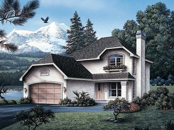 Traditional House Plan 87341 Elevation