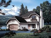 Plan Number 87341 - 1492 Square Feet