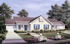 Plan Number 87353 - 1704 Square Feet