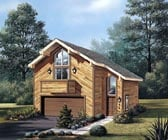 Plan Number 87354 - 654 Square Feet