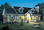 Plan Number 87356 - 1140 Square Feet