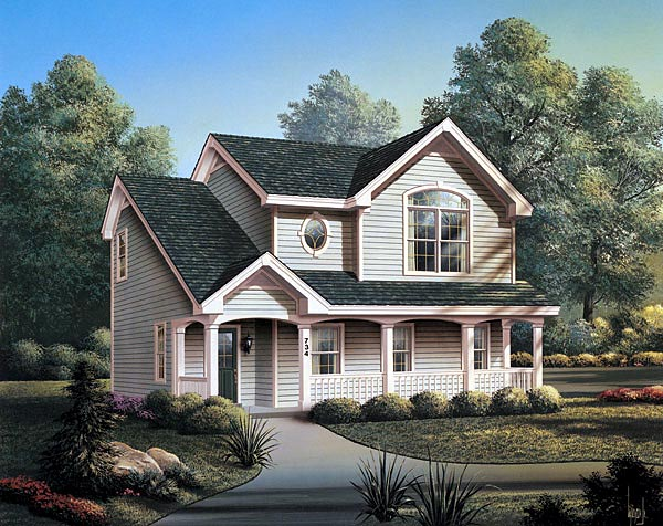 Country Garage Plan 87382 Elevation