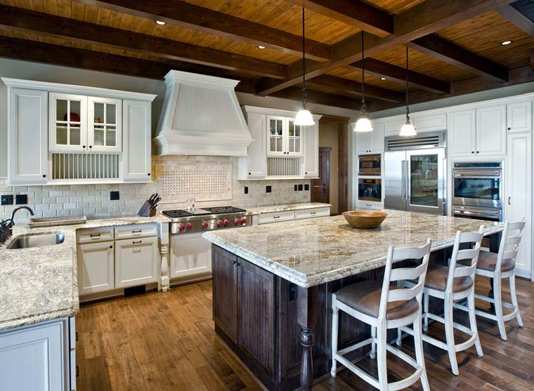House Plan At FamilyHomePlanscom - Craftsman house plans with 3 car garage