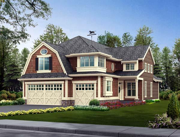 Farmhouse House Plan 87442 Elevation