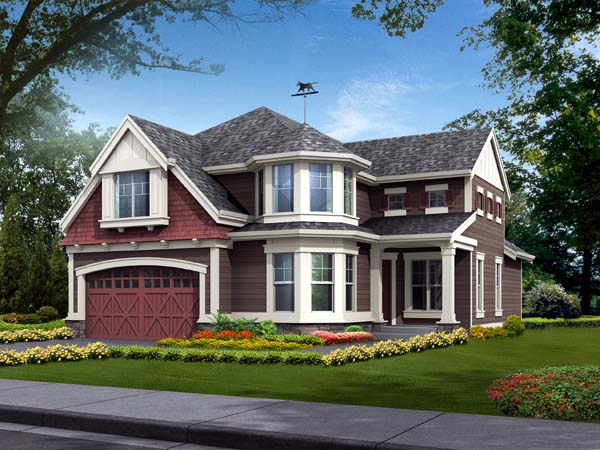 Farmhouse House Plan 87444 Elevation
