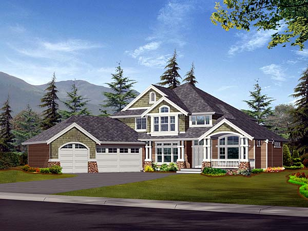 Traditional House Plan 87452 Elevation