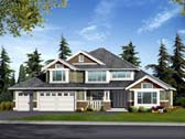 Plan Number 87468 - 3040 Square Feet