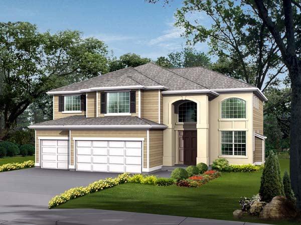 Craftsman House Plan 87469 Elevation