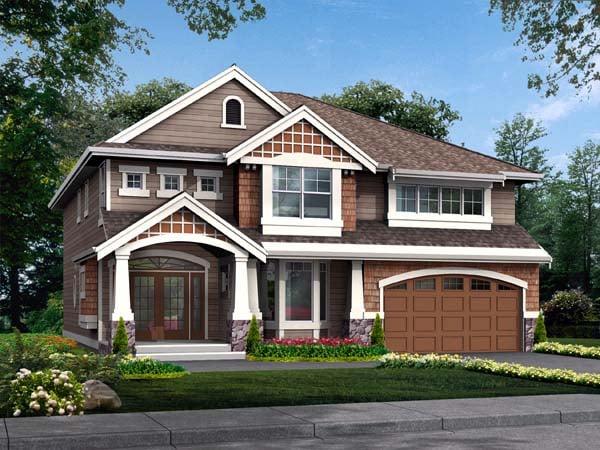 Craftsman House Plan 87472 Elevation