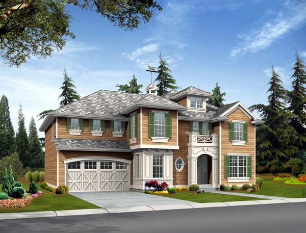Country Craftsman House Plan 87487 Elevation