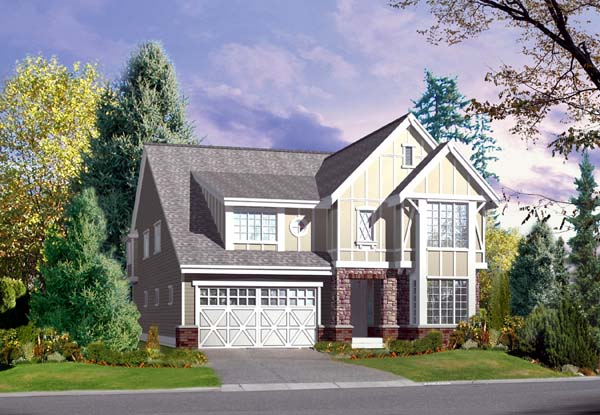 Traditional House Plan 87488 Elevation