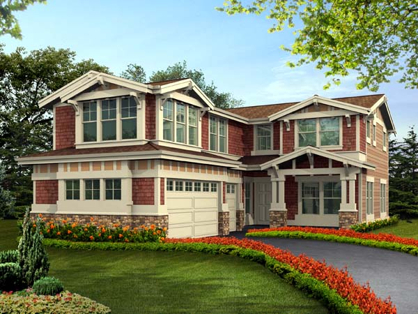 House Plan 87498