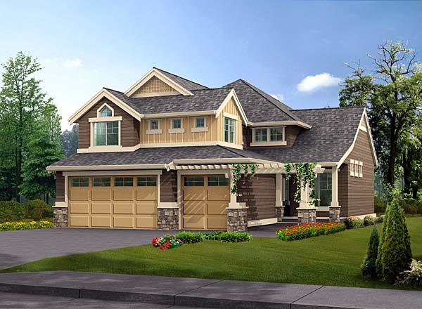 House Plan 87513