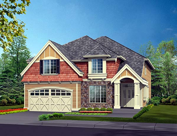 Craftsman Traditional House Plan 87541 Elevation