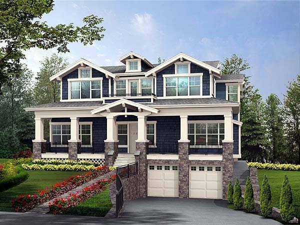 Luxury House Plan 87565