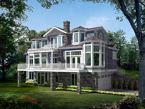 Contemporary Southern House Plan 87571 Elevation