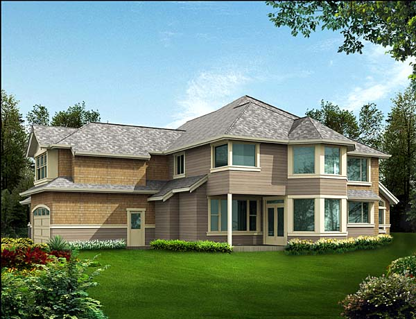 Country House Plan 87575 Rear Elevation