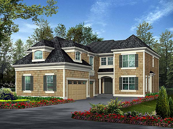 Traditional House Plan 87578 Elevation