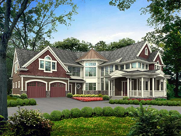 Country Victorian House Plan 87579 Elevation