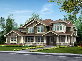 Craftsman House Plan 87588 Elevation