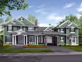 Plan Number 87596 - 4600 Square Feet