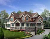 Plan Number 87599 - 4645 Square Feet