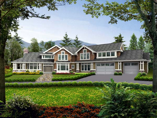 Country Farmhouse House Plan 87600 Elevation