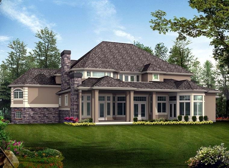Victorian House Plan 87604 Rear Elevation
