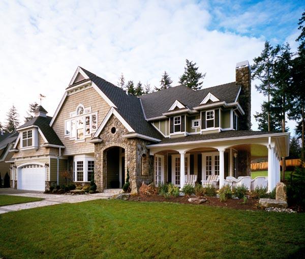 Craftsman Style Det Garage Garage Plans: Craftsman Style House Plan 87606 With 4 Bed, 4 Bath, 4720