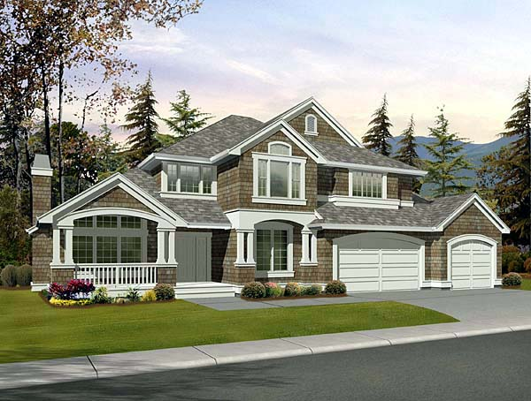 Luxury House Plan 87661