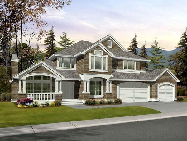 Craftsman House Plan 87665 Elevation