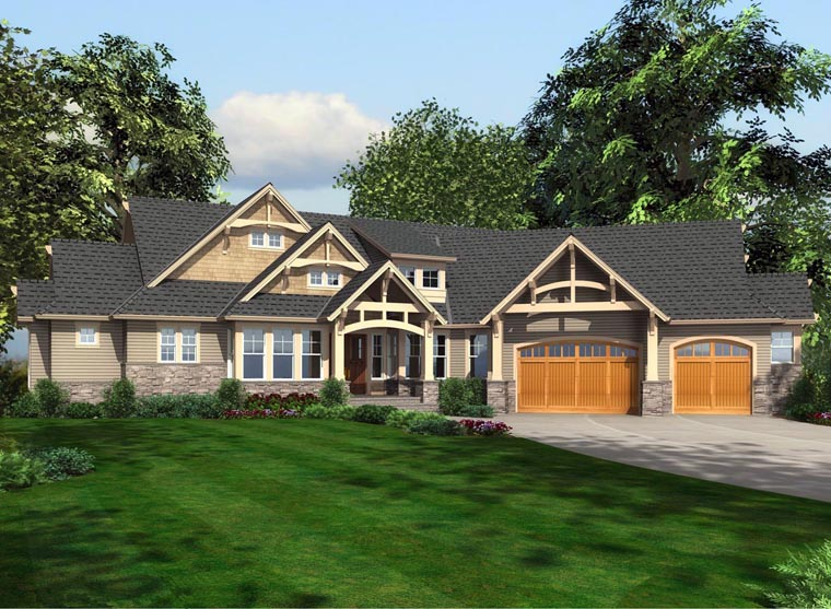 Cottage Traditional House Plan 87681 Elevation