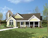 Plan Number 87800 - 1072 Square Feet