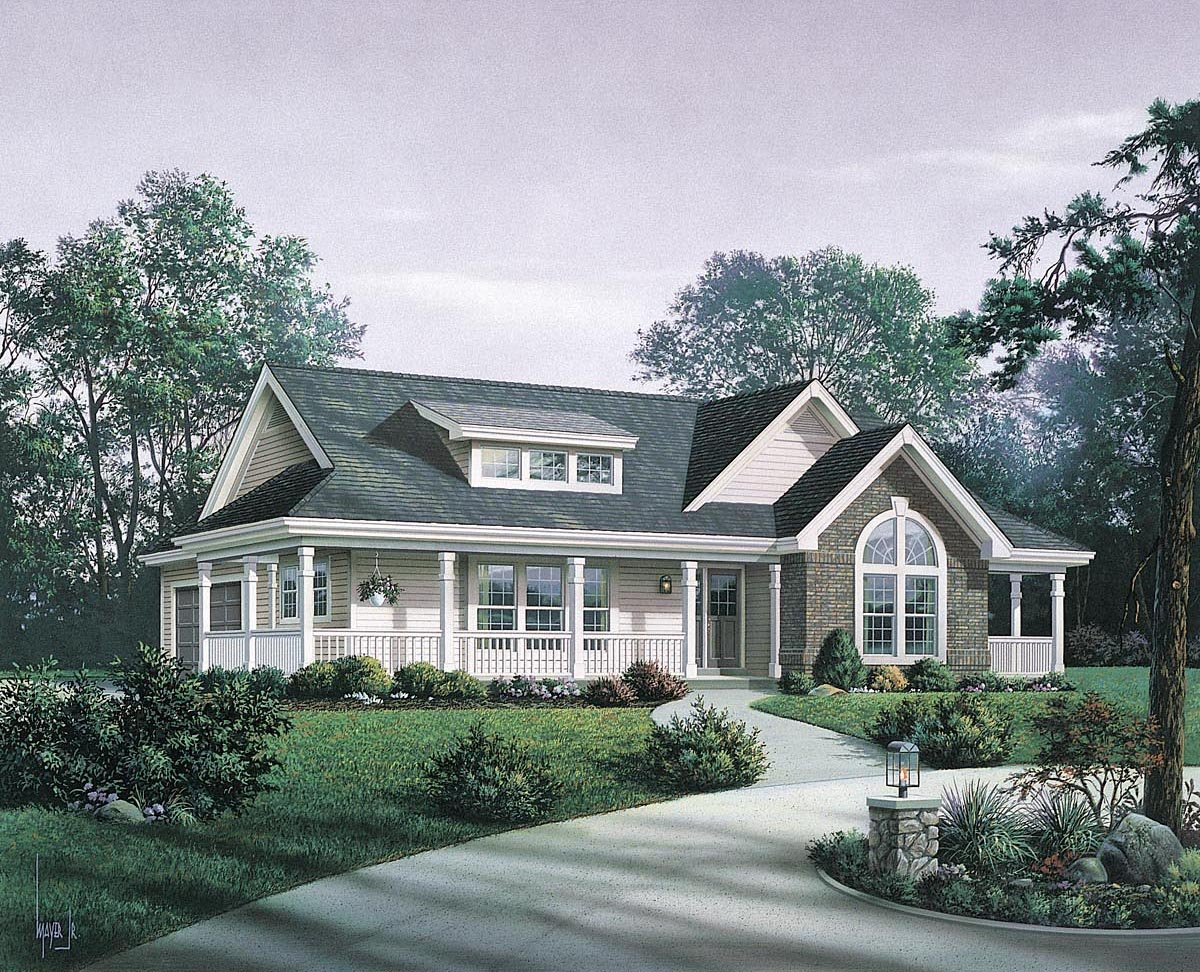 ... House Plan 87811 At Familyhomeplans Com ...