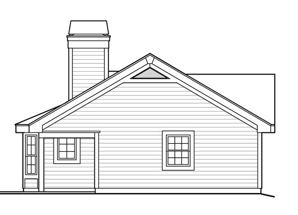 Cottage, Country, Ranch House Plan 87813 with 1 Beds, 1 Baths, 1 Car Garage Picture 1
