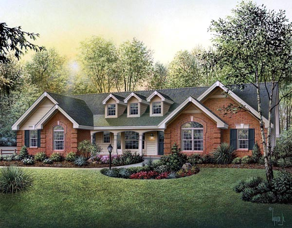 House Plan 87817 at FamilyHomePlans.com