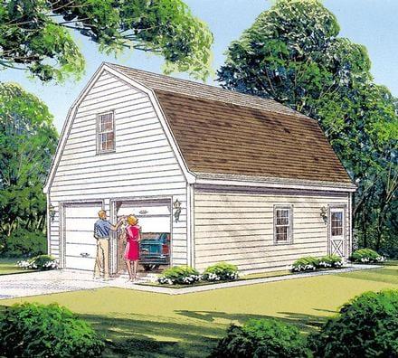 Garage Plan 87822