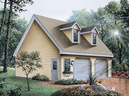 Garage Plan 87823