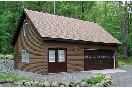 Garage plan 87824 for Plan de garage avec loft