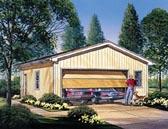 Garage Plan 87838