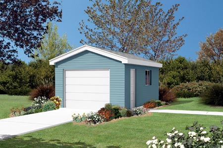 Garage Plan 87844 Elevation