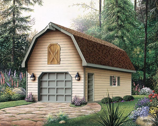 Garage Plan 87865 Elevation