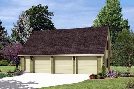Garage Plan 87866