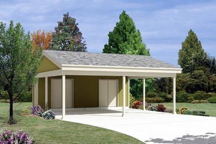 Garage Plan 87867